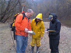 Geologists in the field